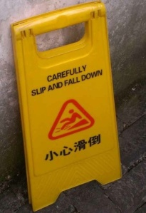 a common mistranslation in China
