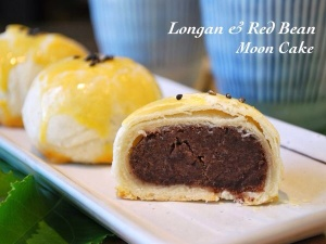 red bean filled Suzhou style mooncakes