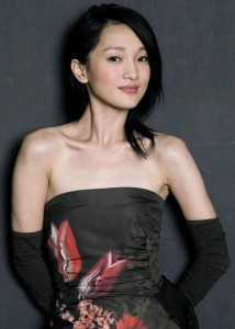 some people say that the actress and singer Zhou Xun is nai kan