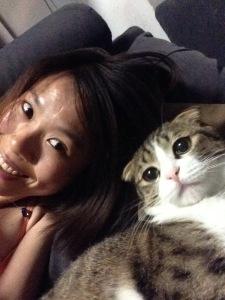 even pets like to take selfies sometimes