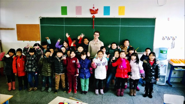 speaking a bit of mandarin can help develop a good relationship with students and staff at your school