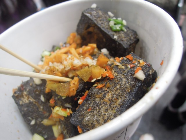 Stinky tofu smells disgusting but is popular street food in some parts of China